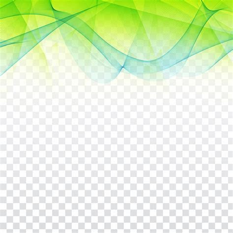 abstract wavy geometric design  transparent background