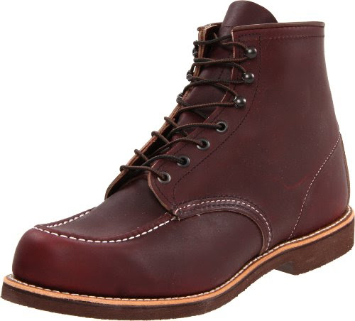 Red Wing Shoes Men's 200 6 Moc Boot,Oxblood Mesa,10.5 D US