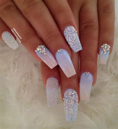 30 Fairy Like Wedding Nails For Your Big Day   Easy Nail