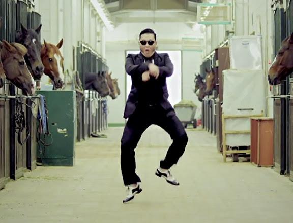 Gangnam Style - imagem retirada do Google
