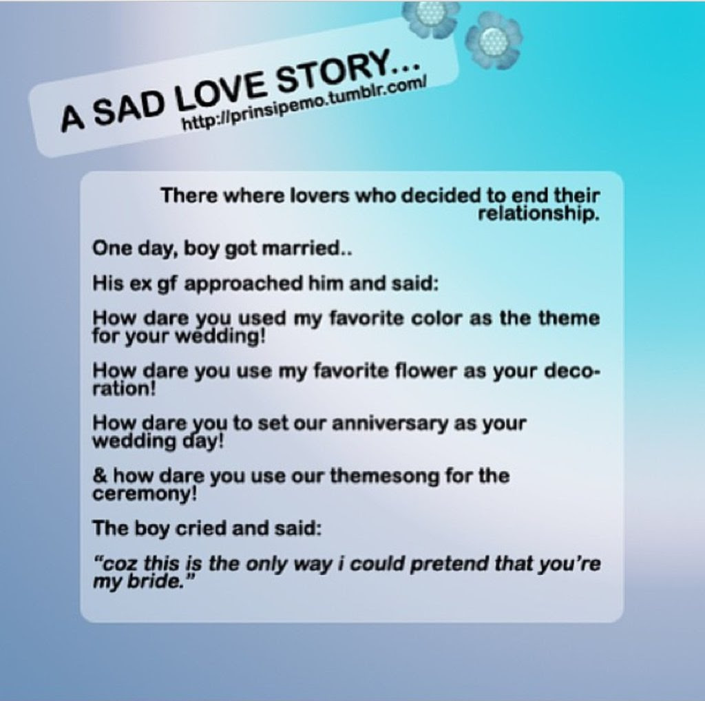 Quotes About Sad Love Story 30 Quotes