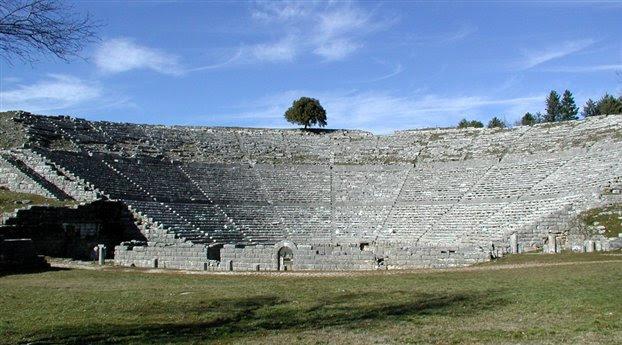 Perierga.gr - Τα αρχαία θέατρα «κουρδίζονταν»!