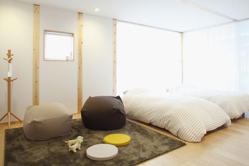 Minimalist bedroom  Interior Design Ideas.