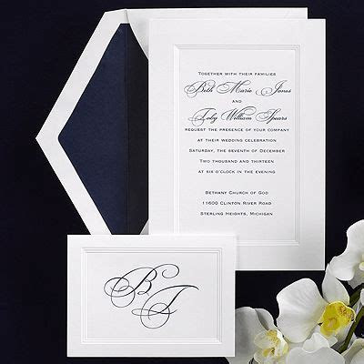 1000  ideas about Framed Wedding Invitations on Pinterest