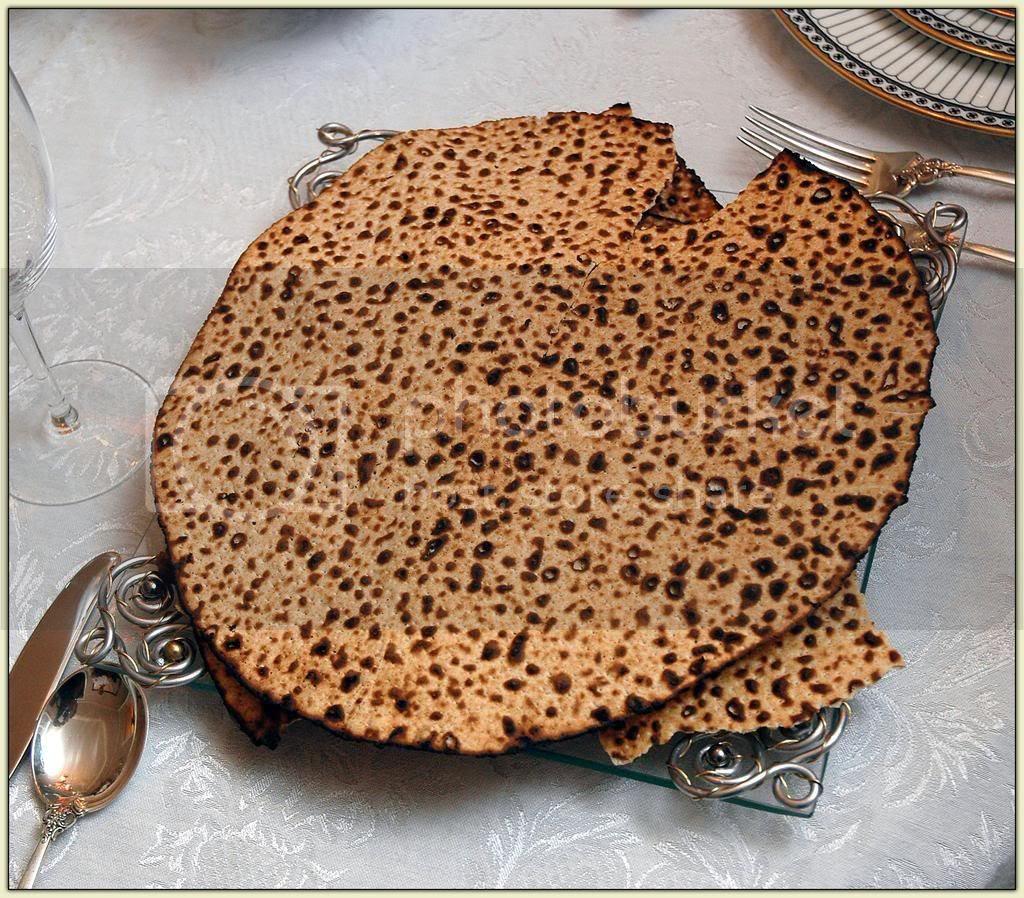Matzoh - the Bread of Affliction