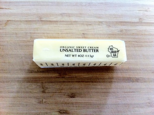 8 Tablespoons Unsalted Organic Butter