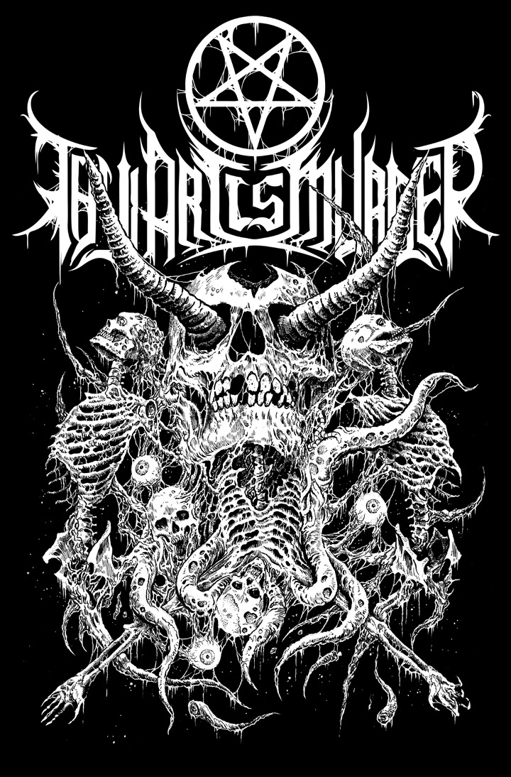 Riddickart Thy Art Is Murder Artwork