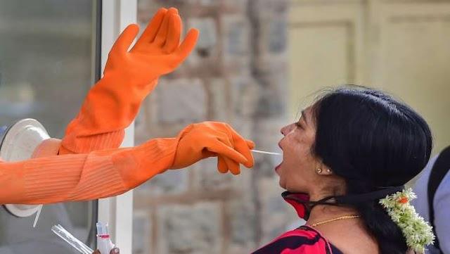 भारत में कोरोना वायरस के खिलाफ जंग हुई तेज, 1 दिन में किए 10 लाख से अधिक कोविड टेस्ट