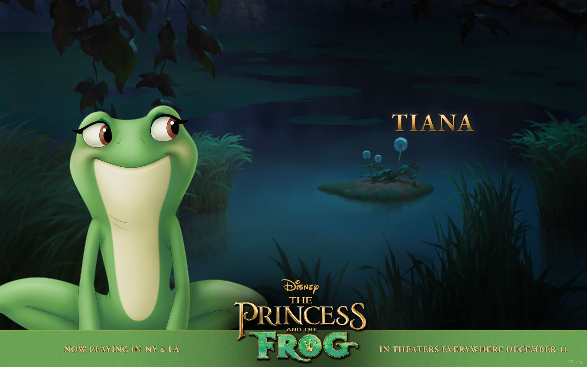 Tiana In The Bayou From Disney S Princess And The Frog Desktop