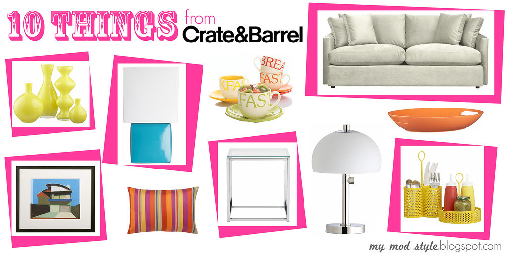 10 Things from Crate & Barrel