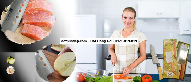 Tạp dề đồng phục giúp việc nấu ăn vệ sinh và tiện dụng | HÀ THÀNH