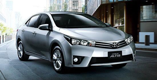 All-new Toyota Altis 2014 โตโยต้าอัสติส