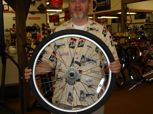 New Bike Wheel