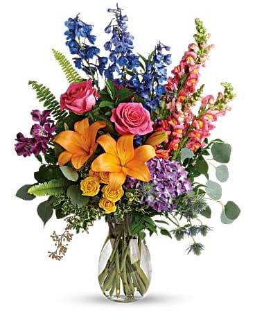 Colors Of The Rainbow Bouquet In Sidney Oh Dekker S Flowers