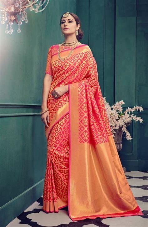 Price @2550.00 INR Colour : Pink Saree Fabric
