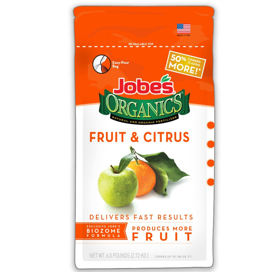 Jobe S Organics Fruit And Citrus Plant Food 6 Lb Natural Tree Food In The Plant Food Department At Lowes Com