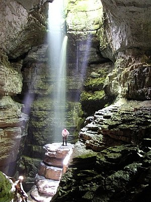 Stephens Gap, A vertical cave in Alabama, USA