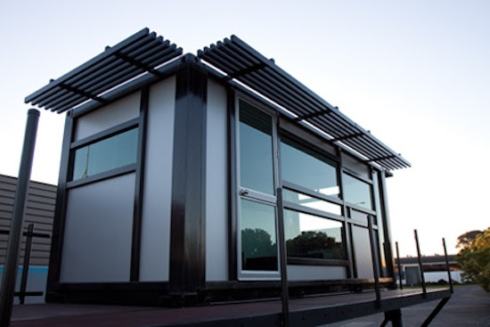 Modern Prefab Shipping Container Home
