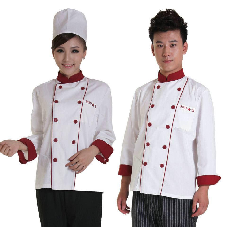 đồng phục đầu bếp may sẵn,
