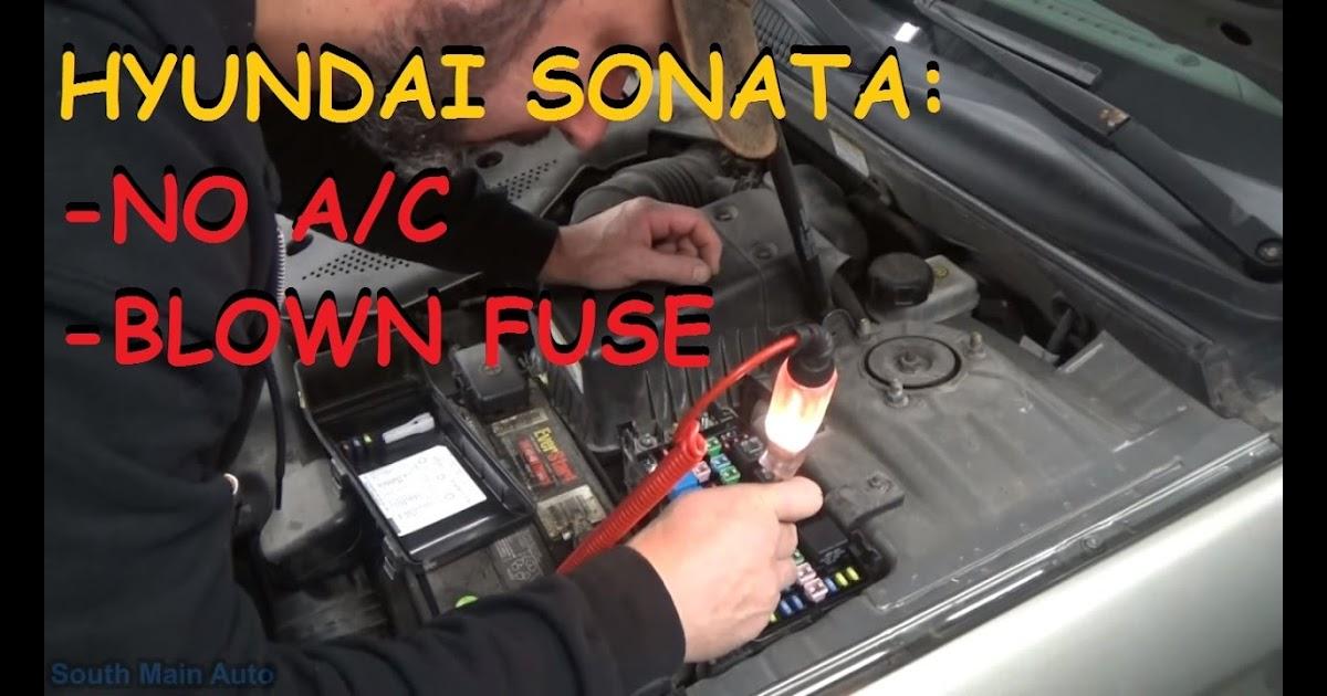 2006 Hyundai Sonata Ac Compressor Not Working