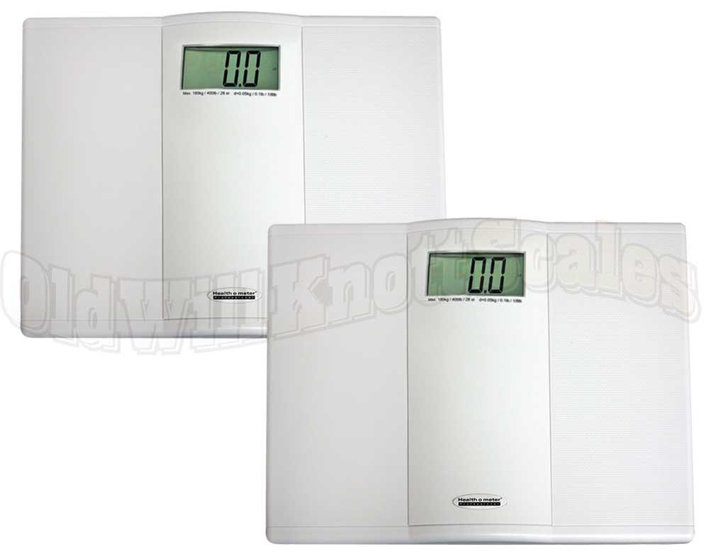 Health O Meter 822kl 2 Pack Of Digital Bathroom Scales