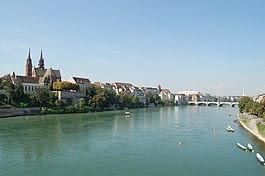 Basel - Rhine ở Basel