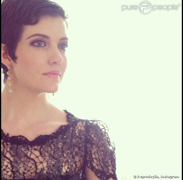 A atriz Larissa Maciel anunciou a sua gravidez através da rede social