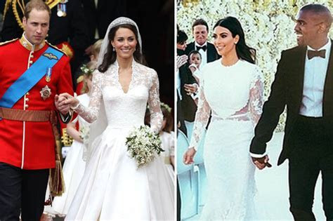 Kim Kardashian beaten by Kate Middleton in best wedding