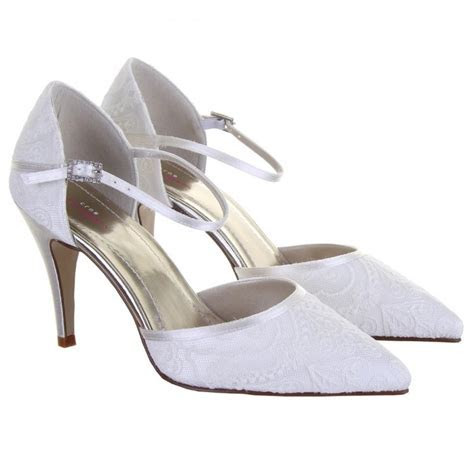 Rainbow Club Tierney Lace Bridal Shoes   Perdita's Wedding