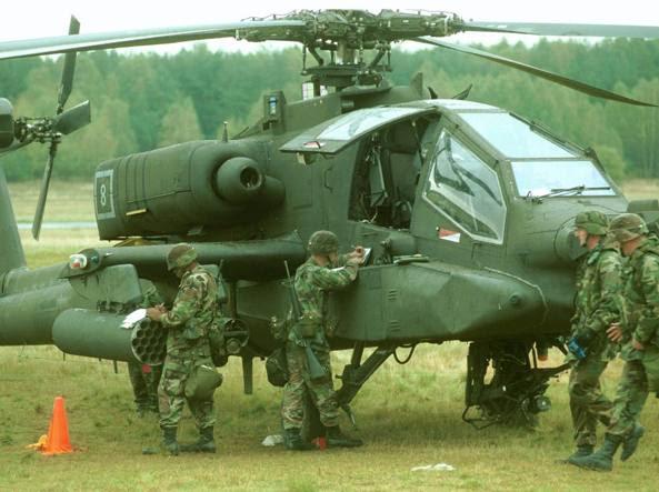 Truppe americane durante un'esercitazione in Polonia (Ap)