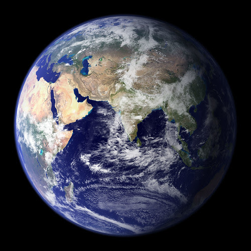 NASA's Blue Marble by Goddard Photo and Video Blog.