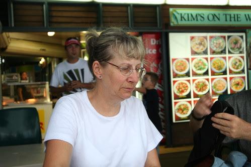 Pam at Stokes Hill Wharf