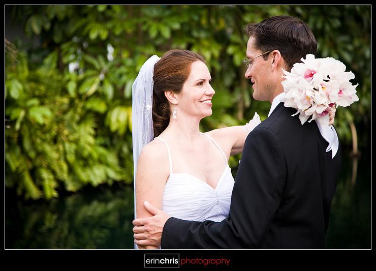 Wedding photo at the Tradewinds Island Resorts