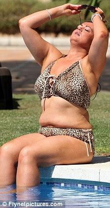 Desistido: The 30-year-old confessou amar alimentos e também disse que ela tinha desistido de fazer dieta