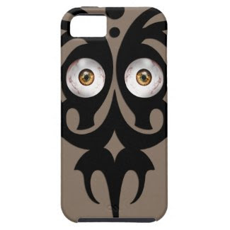 Tribal eyes, brown iPhone 5 cases