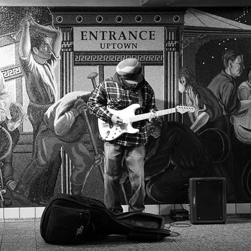 Guitar Player, Times Square