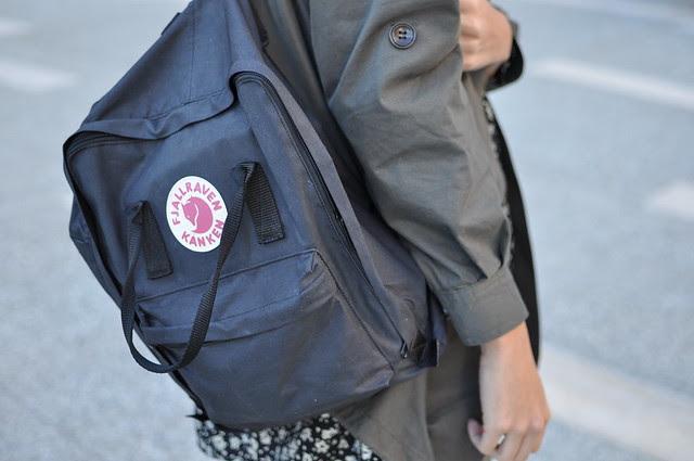 dirty backpack