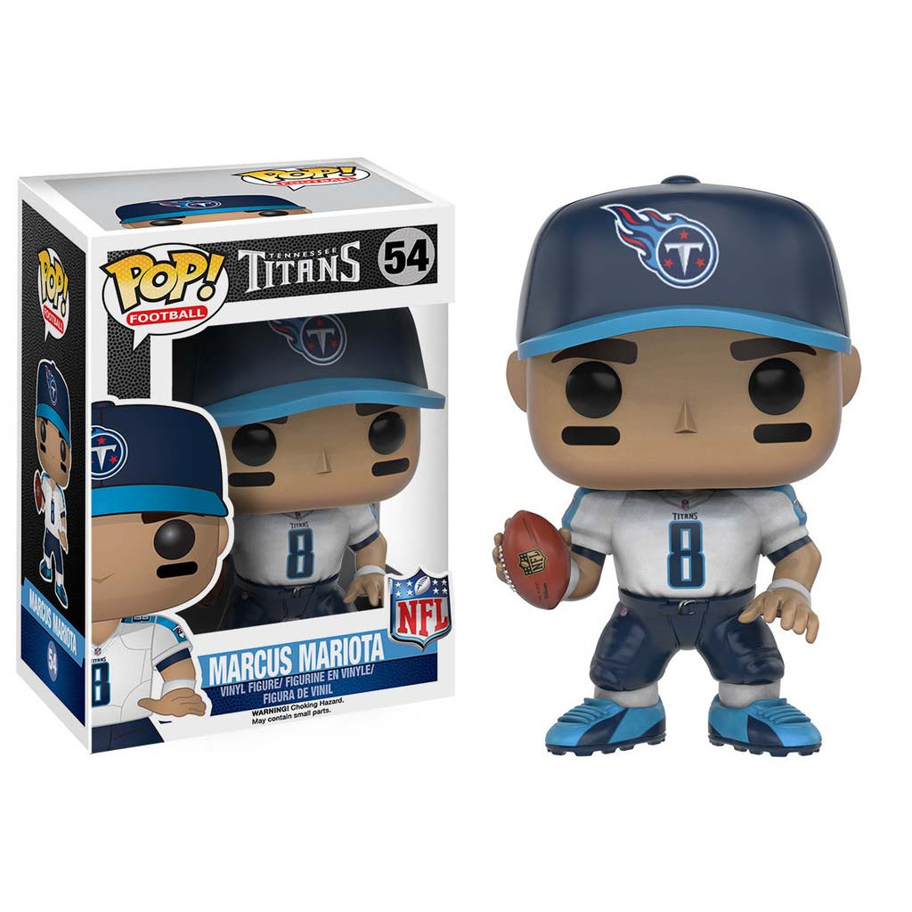 Funko Pop! NFL Wave 3 Tennessee Titans Marcus Mariota  Toys  Games  Action Figures