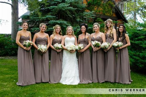 Lake Tahoe Bridesmaid Dresses  Ideas for Planning Your