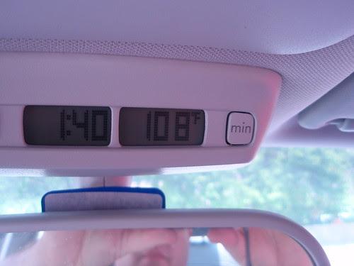 108 degrees F
