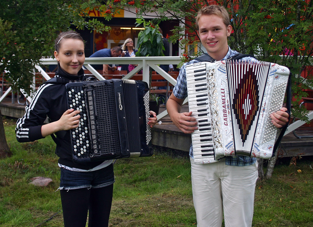 Two Future Accordion Stars