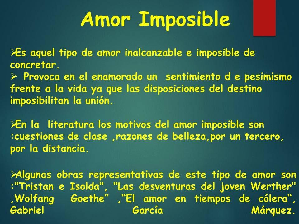 Pensamientos Para Un Amor Imposible