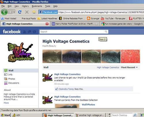 revised last high voltage screen shot