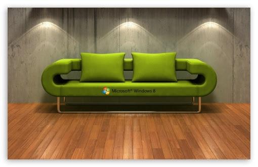 Windows 8 3D Couch ❤ 4K HD Desktop Wallpaper for 4K Ultra