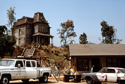 Psycho House in 1985 - Psycho III production