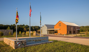 Photo of Harriet Tubman State Park and Visitors Center entrance