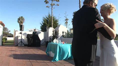 San Clemente Historic Cottage California American Wedding