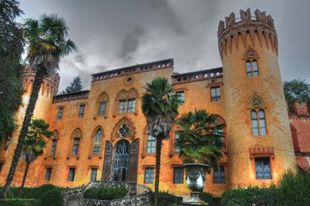 Castello del Roccolo - foto in HDR