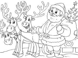 Dibujos De Postales De Navidad Para Colorear Paracolorearnet
