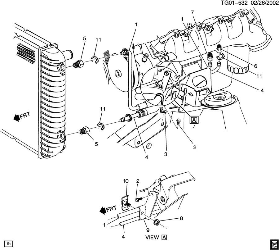 Diagram Of 1999 Gmc Savana Engine